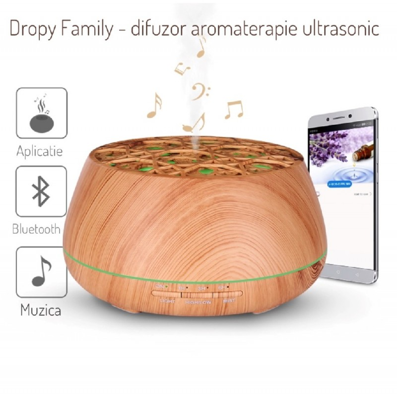 Difuzor aromaterapie Dropy Family 400 ml