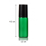 Set 5 sticlute roll on 3 ml verde