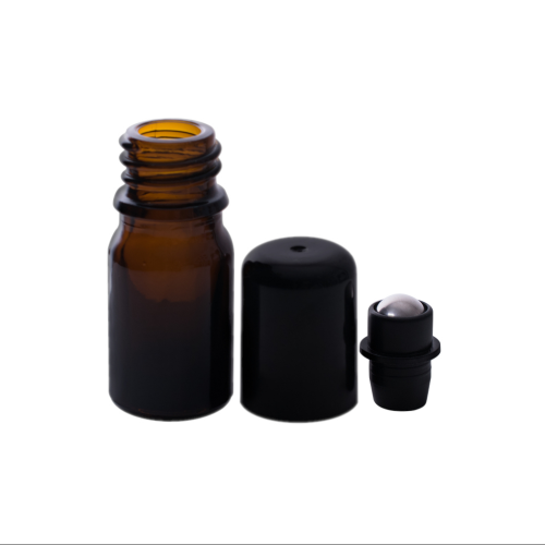 Set 5 sticlute roll on 5 ml (mecanism compatibil si la sticlute de 15 ml)