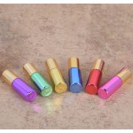 Dropy set 5 recipiente cosmetice sticlute roll on 5 ml color